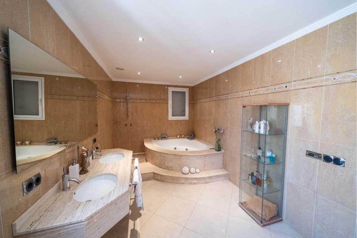 Badezimmer Haus Portocolom Mallorca