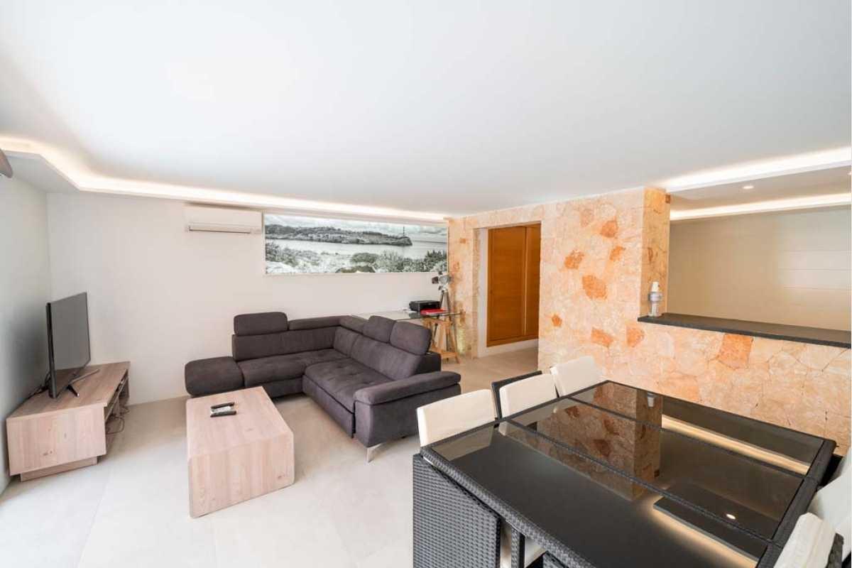 Wohnzimmer Chalet Portocolom