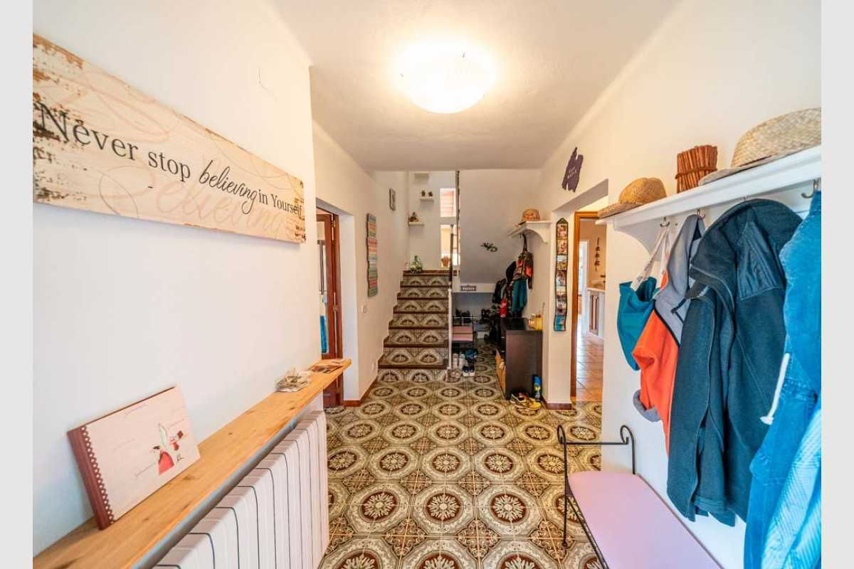Eingansbereich Diele im Haus Portocolom