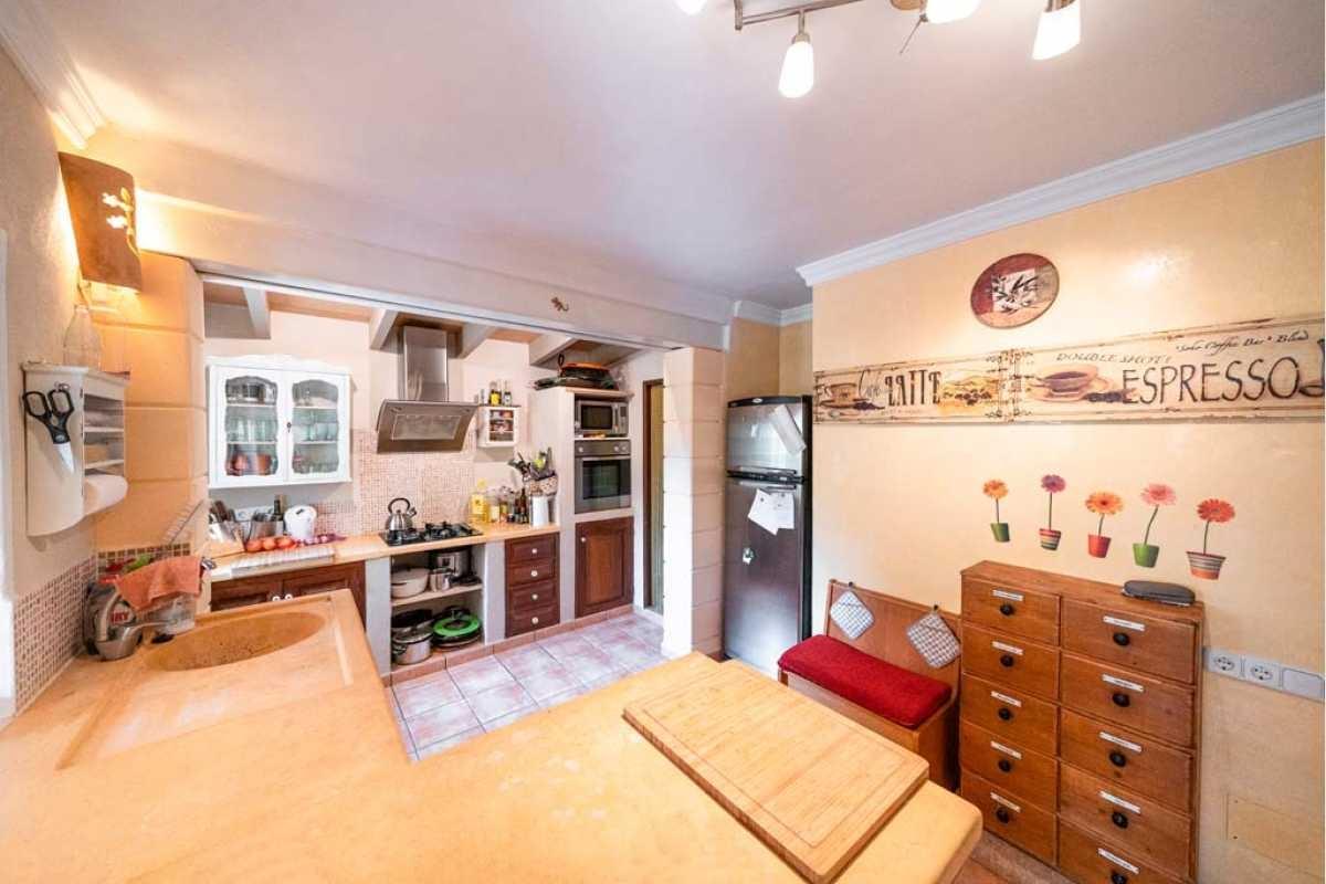 Eingerichtete Küche Haus Portocolom