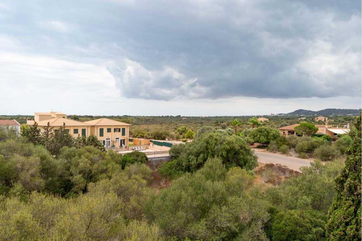 Blick von der Dachterrasse im Haus Portocolom