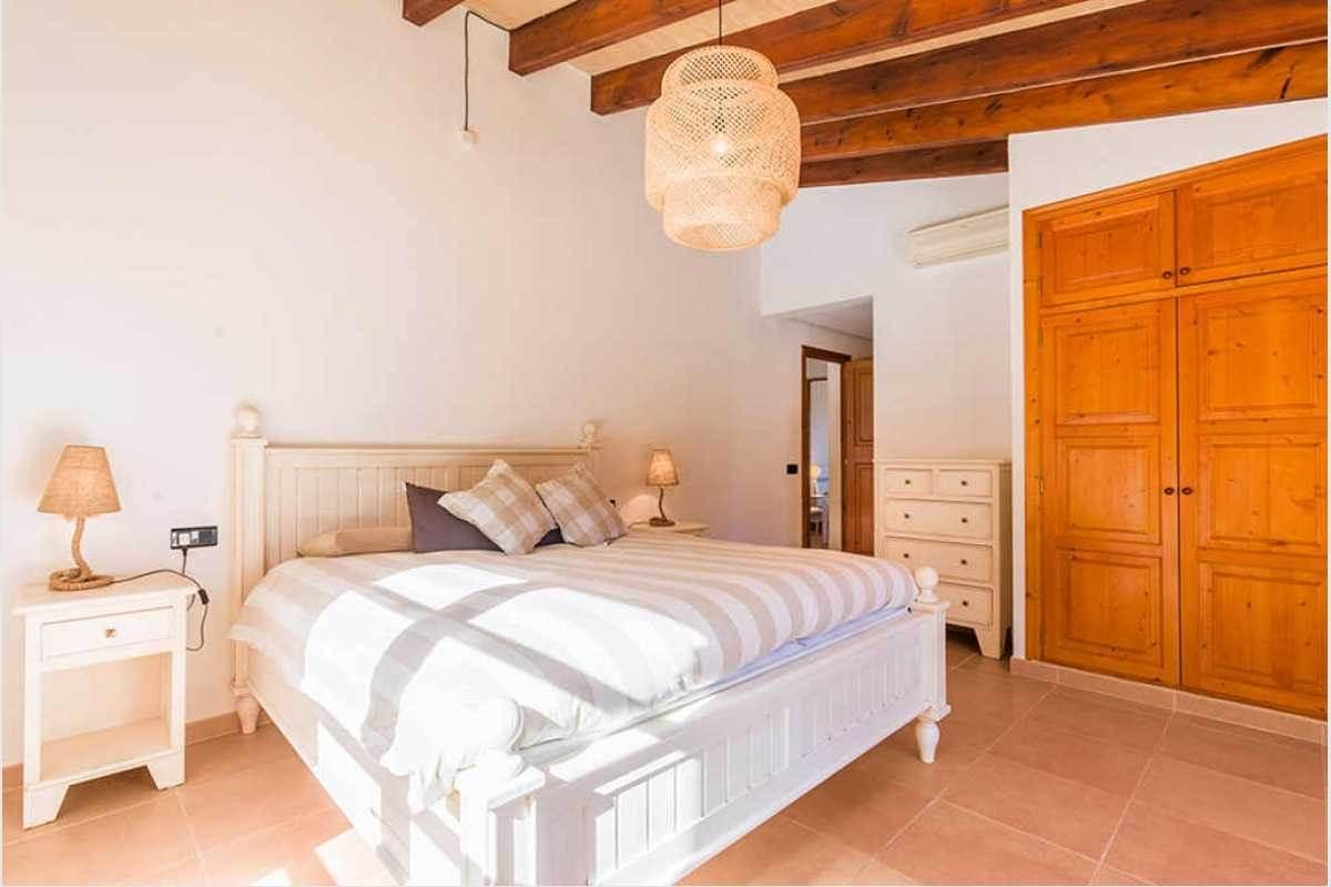Schlafzimmer Grundstück in Felanitx Mallorca