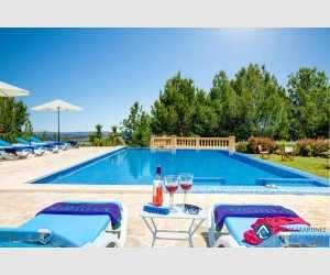 Poolbereich Landhaus Felanitx Mallorca