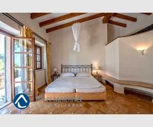 Schlafzimmer mit Terrassen-Ausgang Finca Mallorca