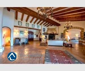 Wohnzimmer und Fernsehraum Finca Mallorca