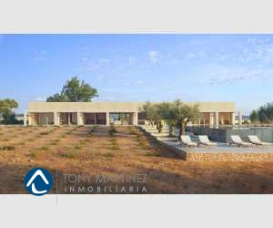 140408, Grundstück mit Bauprojekt in Cas Concos