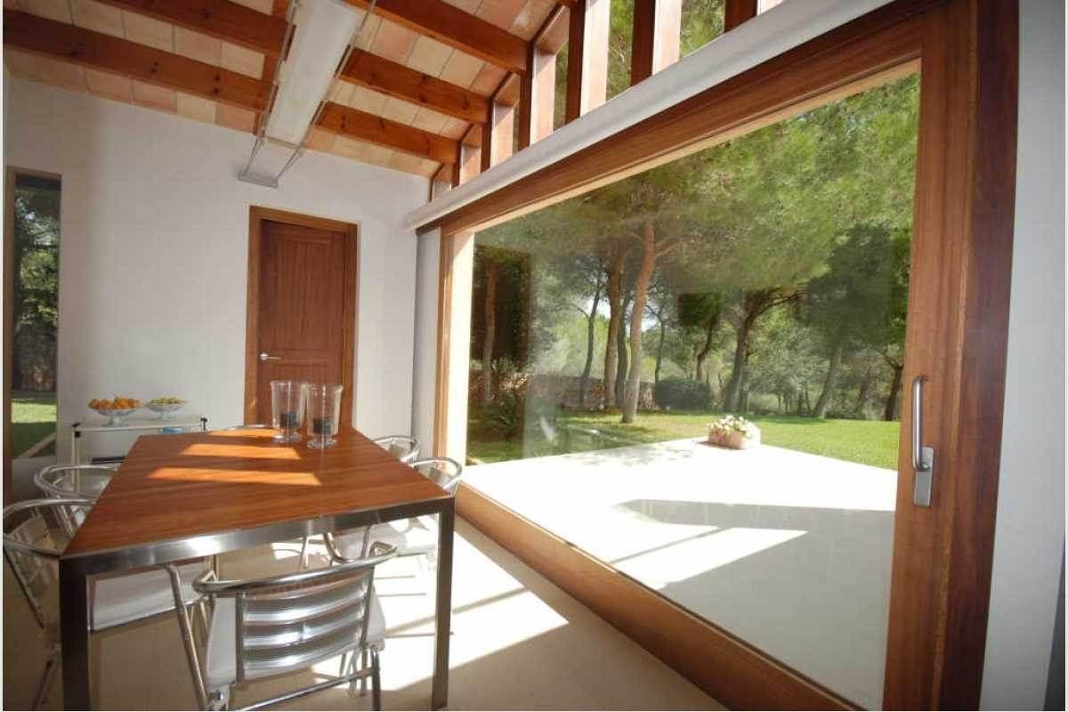 Zugang zur Terrase und Garten Finca