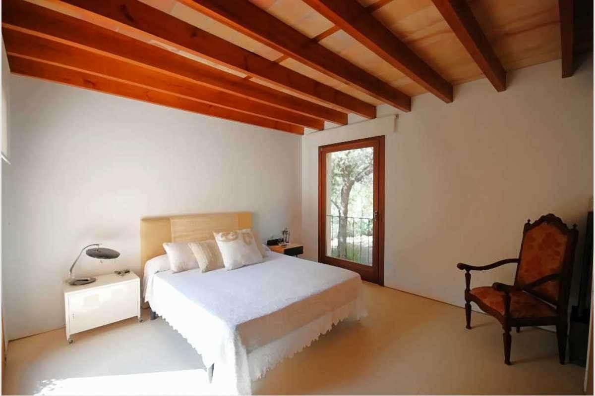 Schlafzimmer mit Balkon Finca Portocolom