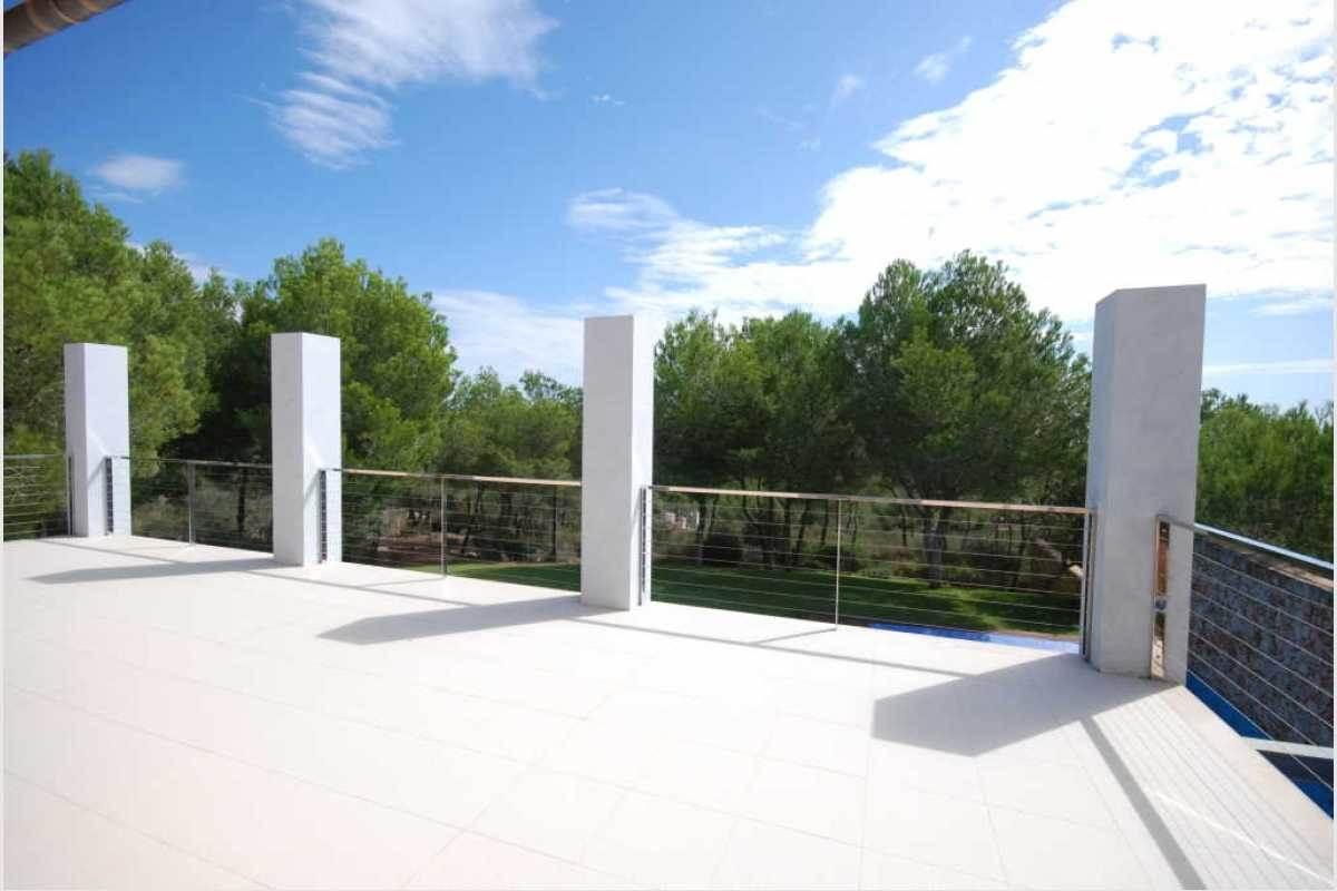 Terrasse mit schöner Aussicht Portocolom