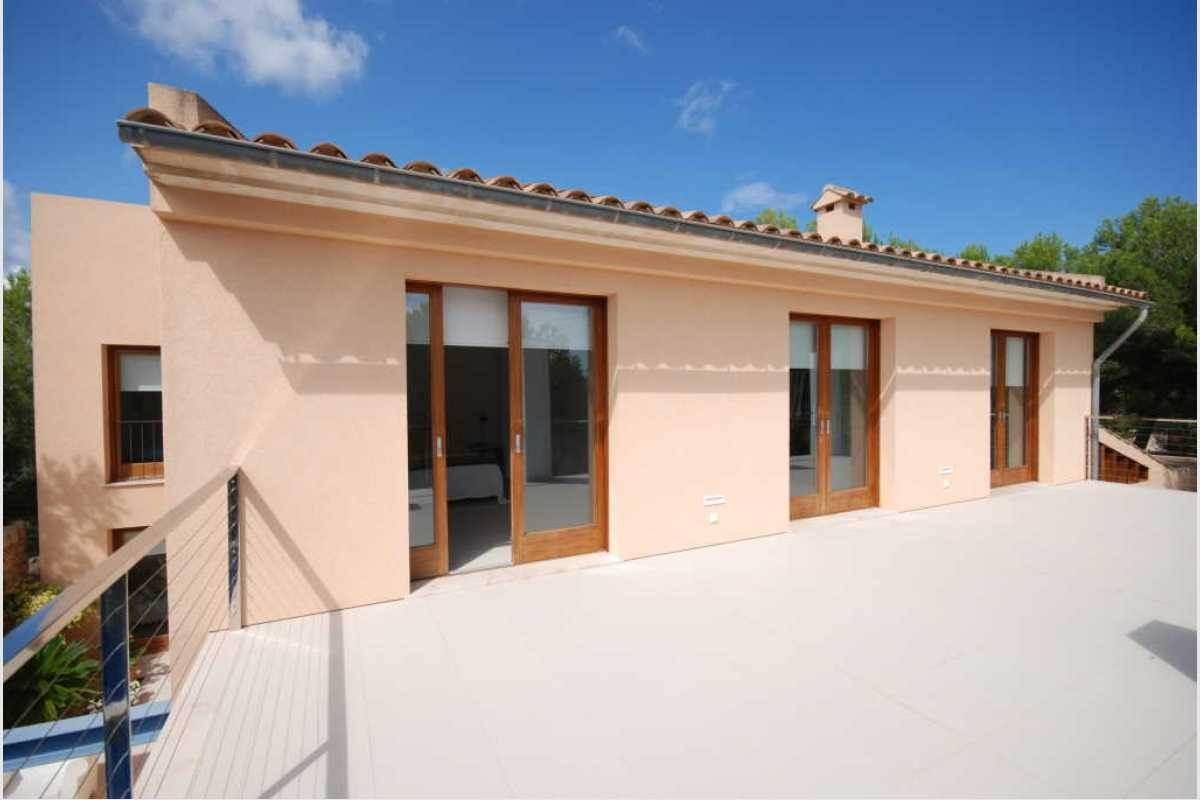 Terrasse mit Zugang zum Schlafzimmer Finca