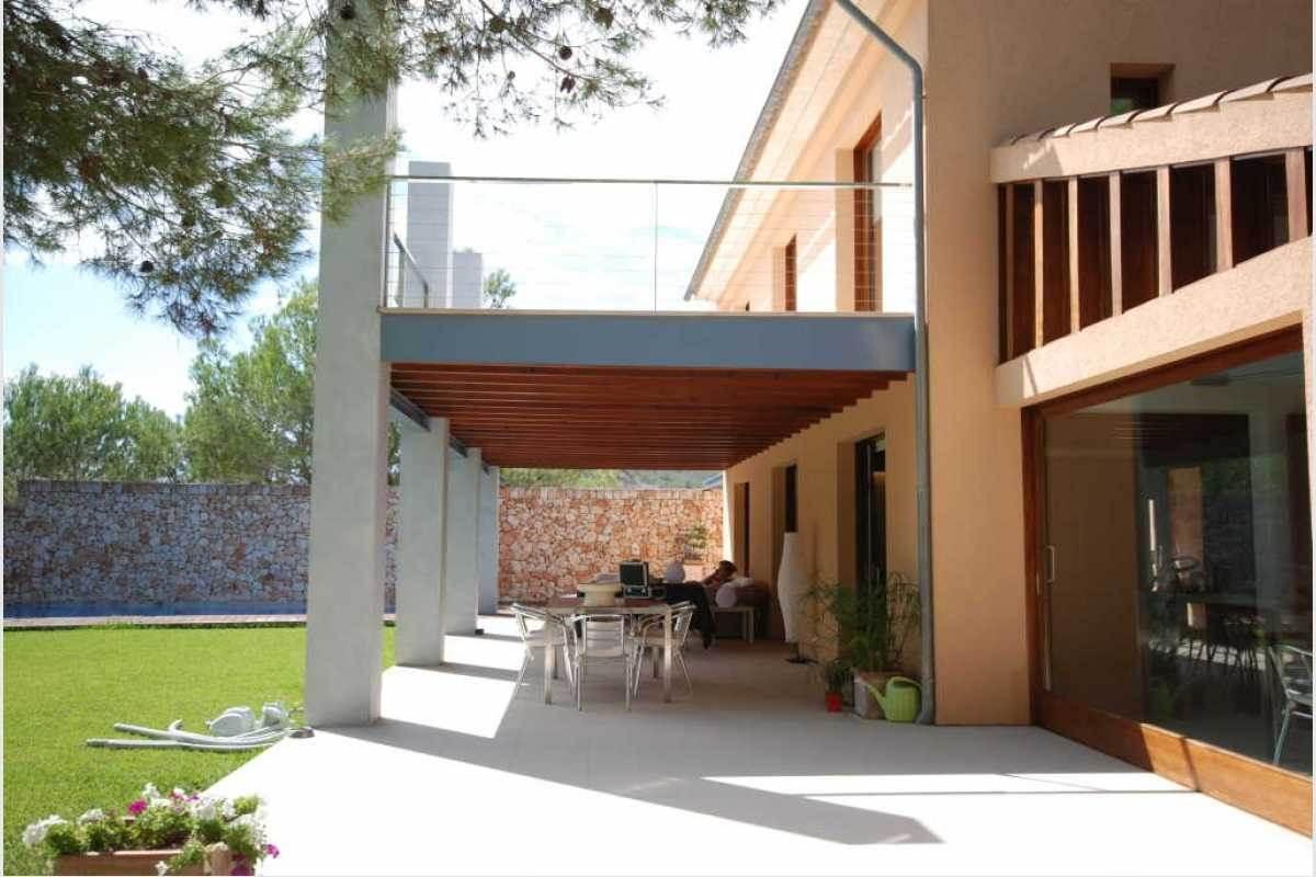 Terrasse und Poolbereich Finca Mallorca