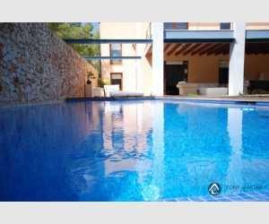 140213, Finca de lujo en estilo loft con vistas el mar en Portocolom