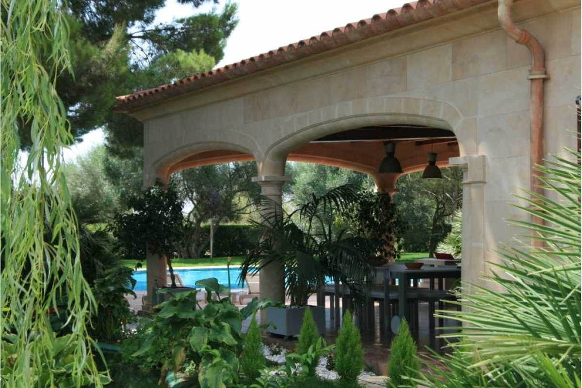 Gartenbereich Finca Campos-Felanitx
