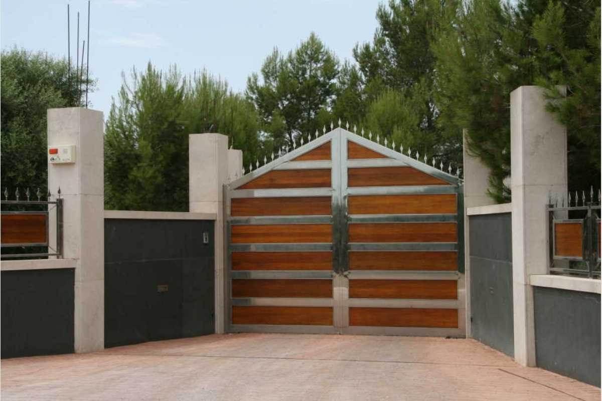 Eingangstor zur Finca Felanitx-Campos