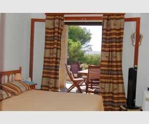 Schlafzimmer Haus mit schönen Ausblick in Portocolom