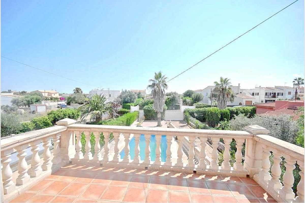 Balkon Doppelhaushälfte Mallorca
