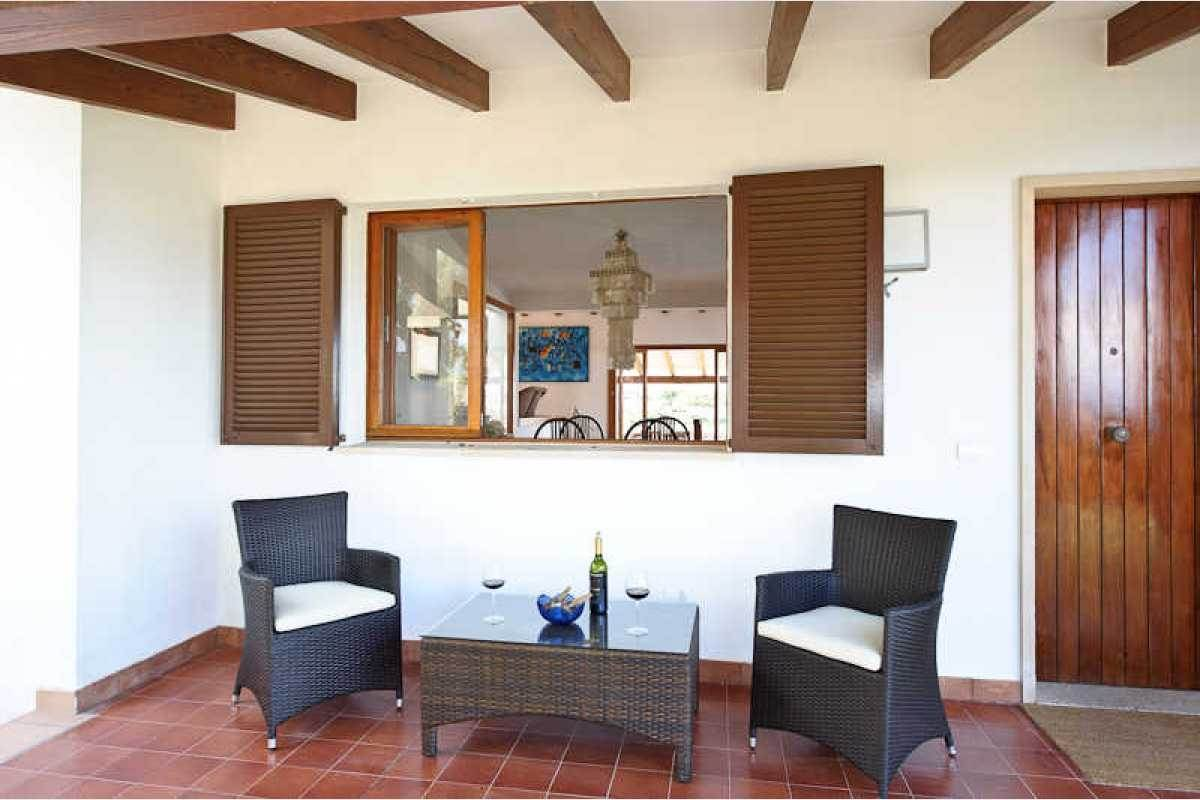 Haus mit Terrasse und Meerblick auf Mallorca
