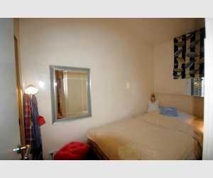 Schlafzimmer Apartment Golfplatz