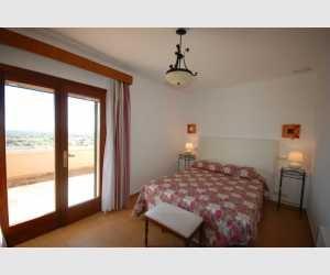 Schlafzimmer mit schönen Ausblick Haus Shorta Mallorca