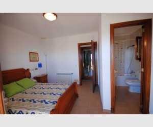 Schlafzimmer mit Bad Haus Shorta Mallorca