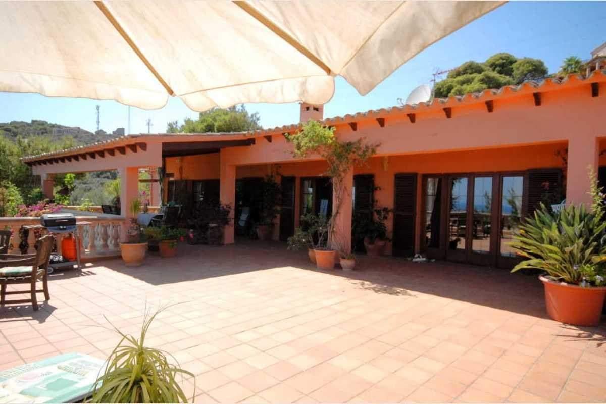 Terrase Finca Shorta Mallorca