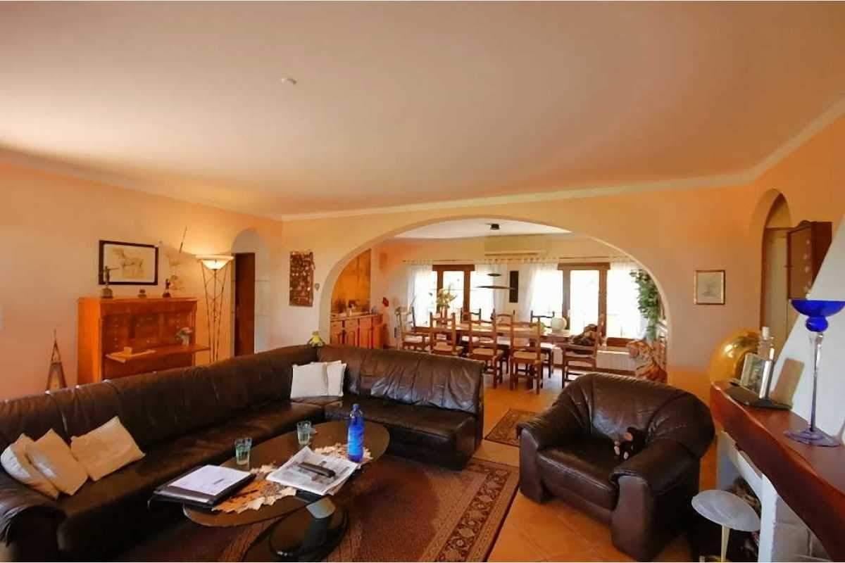 Wohnzimmer Finc Shorta im Südosten Mallorcas