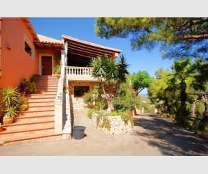 Eingang Finca Shorta Südost Mallorca