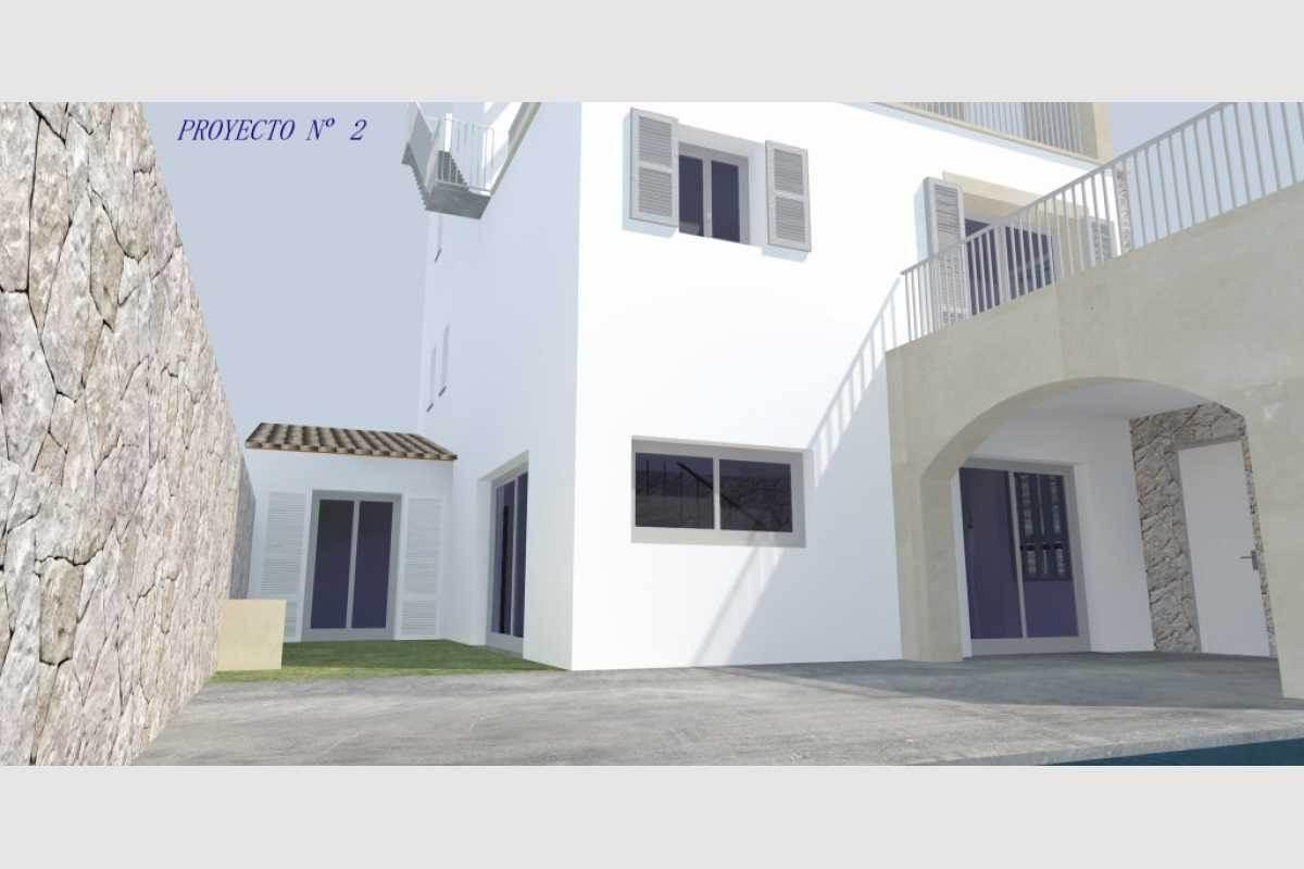 3D Projekt 2 Vorderansicht