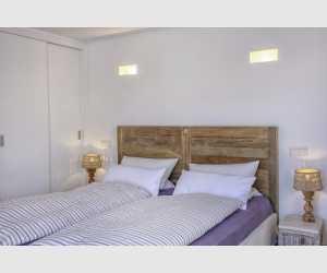 Schlafzimmer oben Stadthaus Shorta