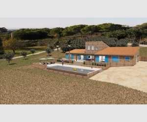 140356, Finca con proyecto de chalet y piscina con vistas espectaculares al mar