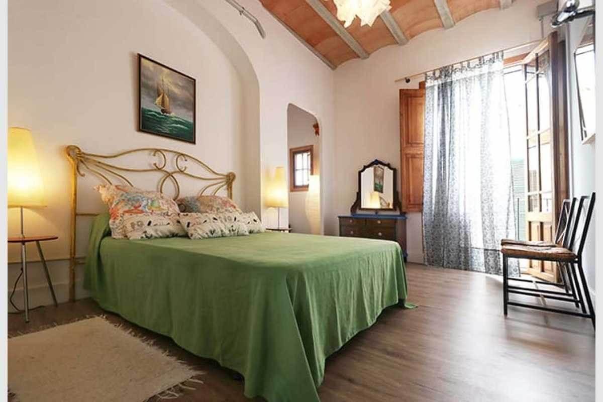 Doppelschlafzimmer im Stadthaus Felanitx Mallorca