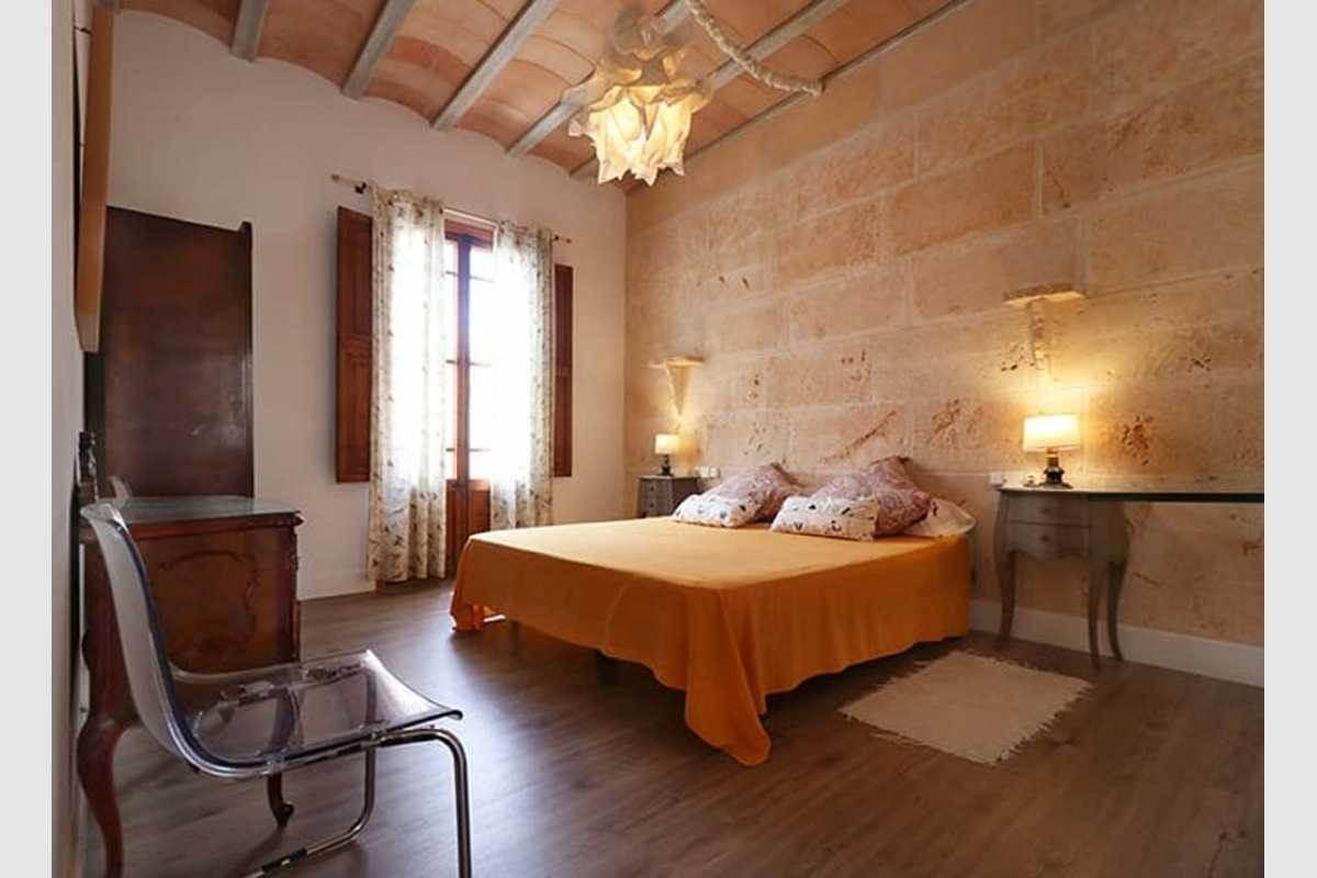 Schlafzimmer Stadthaus Felanitx auf Mallorca