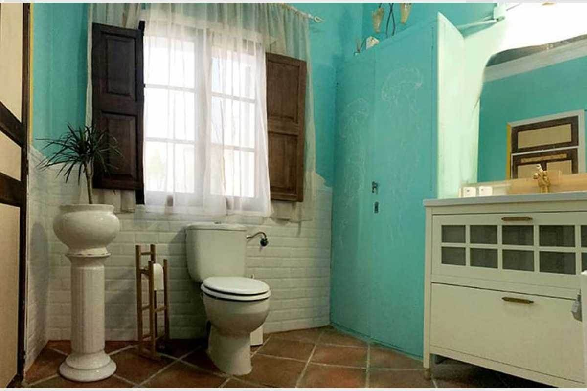 Badezimmer im Stadthaus Felanitx Mallorca