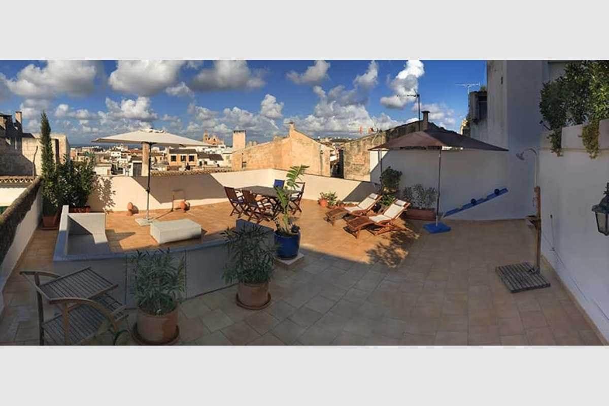 Sonnenterrasse Stadthaus Mallorca