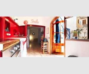 Küche im Stadthaus in Felanitx